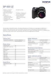 SP-500 UZ, Olympus, Compact Cameras