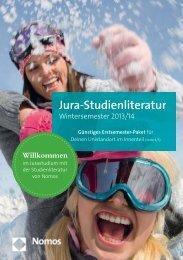 JuraStudienliteratur WS 2013/14 - Nomos