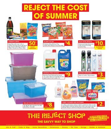 REJECT THE COST OF SUMMER - Mirvac | Retail