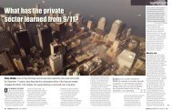 What has the private sector learned from 9/11? - Emily Landis Walker