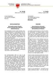 Der Beschlussantrag als PDF - SuedtirolNews.it