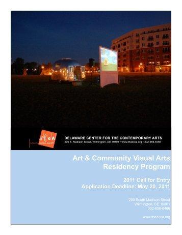 Art & Community Visual Arts Residency Program - Delaware Center ...