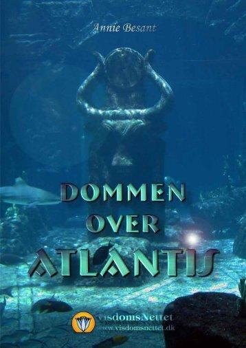 DOMMEN OVER ATLANTIS - Annie Besant - Visdomsnettet