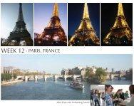 WEEK 12- PARIS, FRANCE