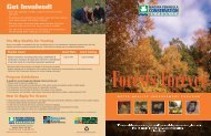 Forests Forever Brochure - Niagara Peninsula Conservation Authority