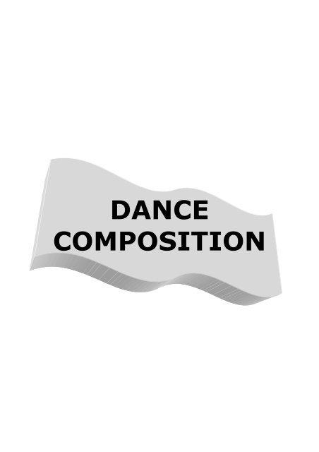Dance Composition Handbook