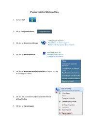 Ip adres instellen Windows Vista - WiFi Shop