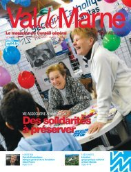 ValdeMarne n°267 / Avril 2010 - Conseil général du Val-de-Marne
