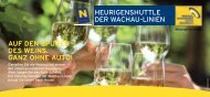 Infoflyer Heurigenshuttle