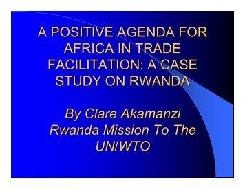 Rwanda - ILEAP