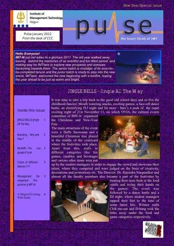 JINGLE BELLS - Jingle All The Way - IMT Alumni