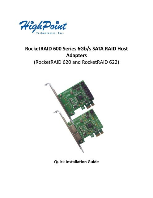 NEW DRIVER: HIGHPOINT ROCKETRAID 3120 SATA CONTROLLER