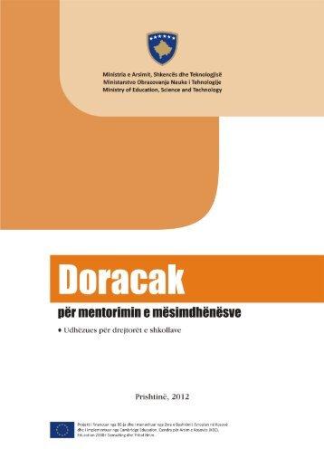 Doracak për mentorimin e mësimdhënësve - EU EDUCATION ...