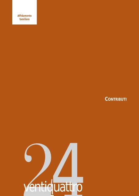 Affido familiare: contributi - DIDAweb