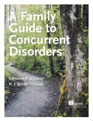 A Family Guide to Concurrent Disorders - Canadian Mental Health ...