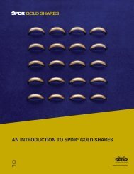 A New Way to Invest in Gold - SPDR Gold Shares