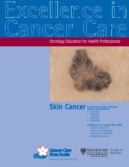 Oncology Education for Health Professionals - Cancer Care Nova ...