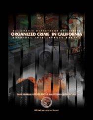 Organized Crime in California - Ossh.com