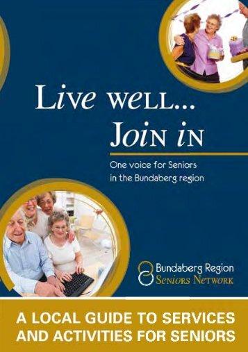 Table Of Contents - Bundaberg Regional Council