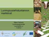 Luomupuutarhatuotannonmarkkinat (Rahtola).pdf - ProAgria Oulu