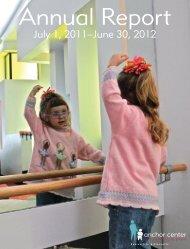 Annual Report 2011-12 - Anchor Center for Blind Children