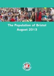 Population of Bristol August 2013