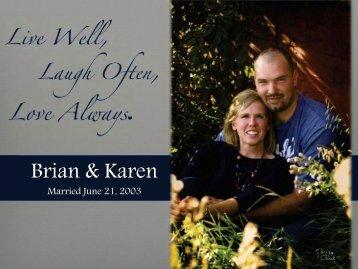 Brian & Karen