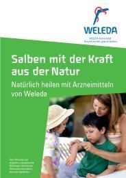 Salben mit der Kraft aus der Natur - Weleda