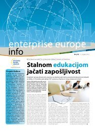 Stalnom edukacijom jačati zapošljivost - Europska poduzetnička ...