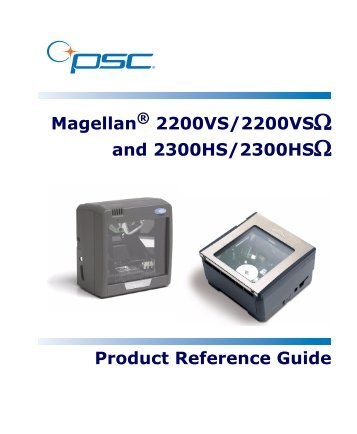 Magellan 2200VS/2200VSΩ and 2300HS/2300HSΩ ... - JUTA-Soft