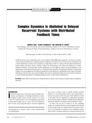 Complex Dynamics Is Abolished in Delayed Recurrent Systems with ...