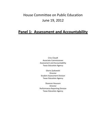 Panel 1 - TEA - Home School Information - Texas Education Agency