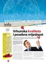 Vrhunska kvaliteta i posebna vrijednost - Europska poduzetnička ...
