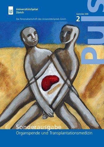 Organspende und Transplantationsmedizin - Transplantation (USZ)