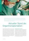 Organspende und Transplantationsmedizin - Transplantation (USZ) - Seite 4