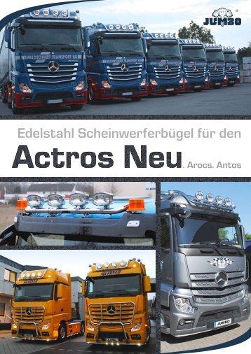 Dachbügel Actros Neu - Jumbo-Fischer