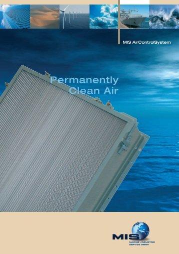 Permanently Clean Air - Marine und Industrie Service GmbH