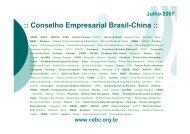 Apresentação MIDIC - Conselho Empresarial Brasil-China