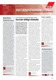 Ausgabe | 10 | 2005 - Landesbeamte