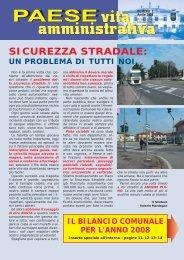 Vita Amministrativa - Pagine da 1 a 10 (PDF ... - Comune di Paese