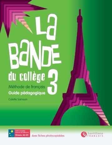 Livre du professeur 3 Démo - Santillana Français