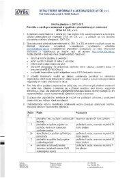 Pravidla a ceník pro využívání přednáškových místností ÚTIA