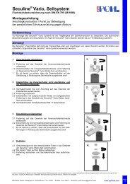 Montageanleitung Seilsystem 05/2013 - POHL