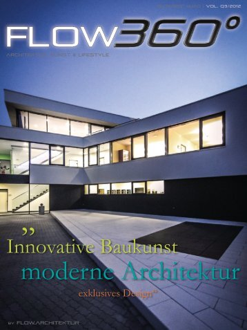 flow360° Q3/2012 - Architektur/Design/Lifestyle