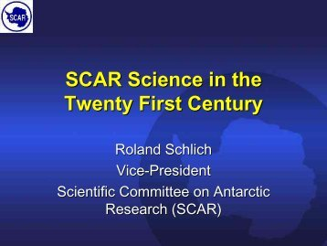 SCAR - International Polar Year