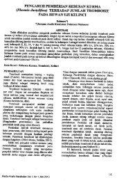 PENGARUH PEMBERIAN REBUSAN KURMA (Phoenix ...