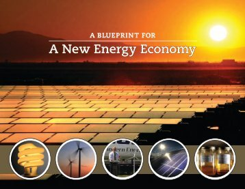 A New Energy Economy - Center for the New Energy Economy ...