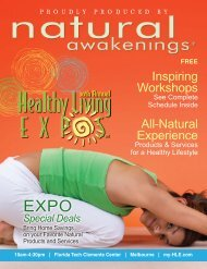 the Healthy Living Expo Program - Natural Awakenings