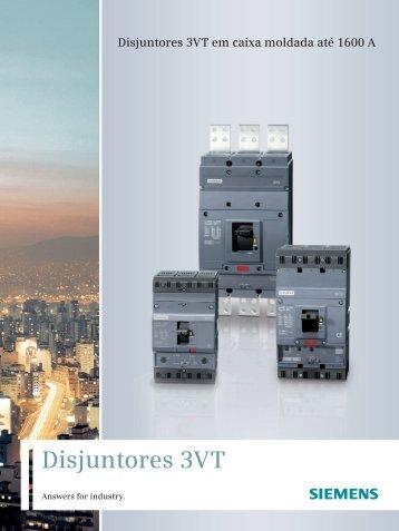 Disjuntores 3VT