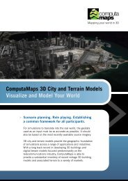 ComputaMaps 3D City and Terrain Models Visualize and Model ...